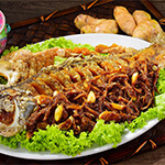 Top Melaka Nancy's Kitchen Nyonya Food - Ikan Goreng Chuan Chuan (Deep Fried Fish in Bean Paste)