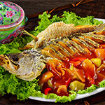 Top Melaka Nancy's Kitchen Nyonya Food - Ikan Goreng Masam Manis (Deep Fried Fish Sweet Sour)