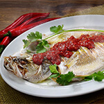 Top Melaka Nancy's Kitchen Nyonya Food - Ikan/Udang Stim Nyonya (Steam Fish/Fillet/Prawn Nyonya Style)